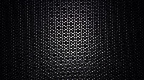 1920x1080 Black honeycomb pattern desktop PC and Mac wallpaper