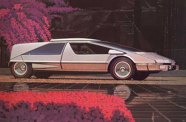 1975 ... Japanese car - Syd Mead