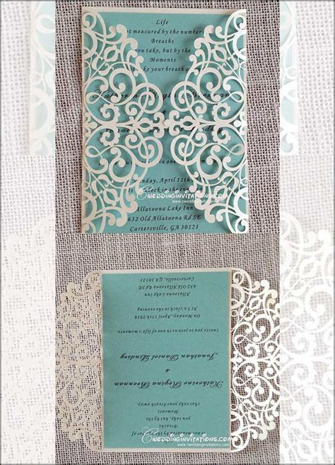 10 Of The Best Laser Cut Wedding Invitations