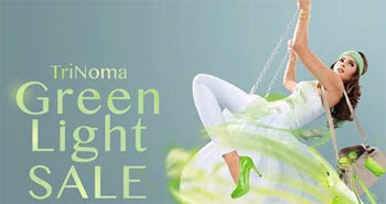 TriNoma Green Light Sale