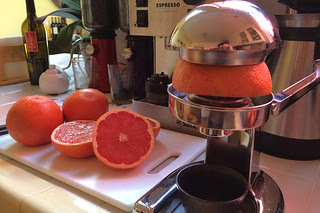 Ruby Reds - Grapefruit juicer