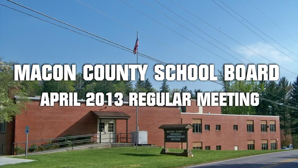 Macon County Board of Education 04-22-2013