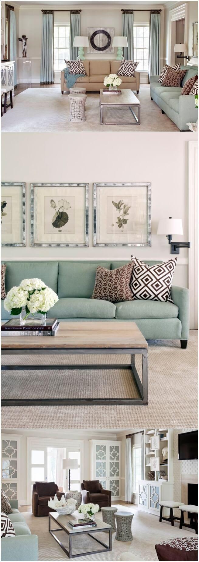 29 Nature Inspired Living Room Decor Ideas