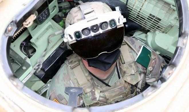 Новые очки IVAS позволят американским солдатам видеть сквозь стены