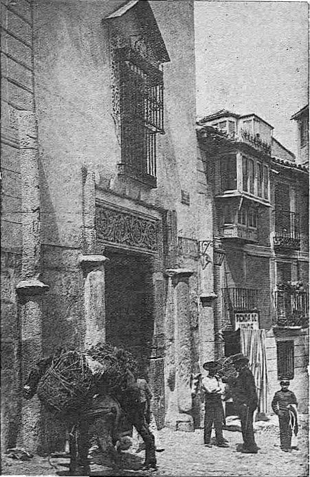 Corrral de Don Diego en 1924. Foto M. Clavería