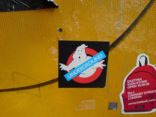 Underground Ghostbuster taken by Melissa