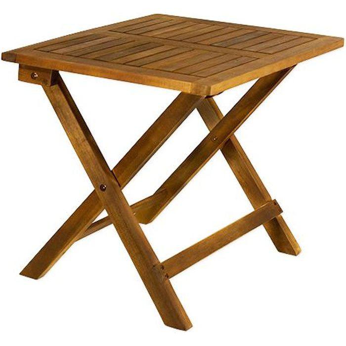 table et chaises de terrasse table pliable bois. Black Bedroom Furniture Sets. Home Design Ideas
