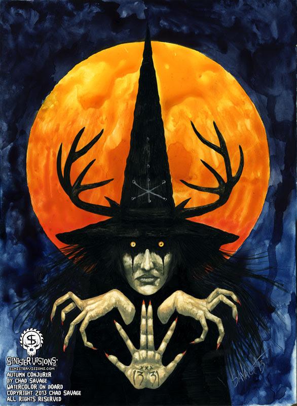 Autumn Conjurer by Chad Savage
