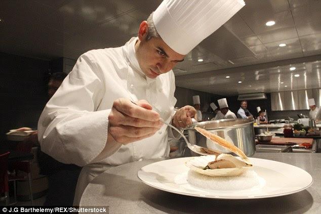 Top chef:Benoit Violier's establishment -Restaurant de l'Hotel de Ville - was named the best in the world