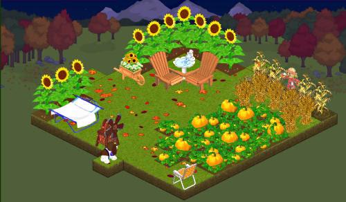 Fall yard in fall!