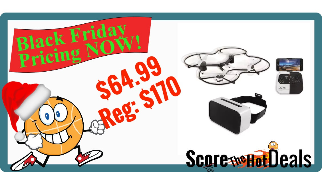 Only 6499 The Sharper Image 144 In Lunar Drone With Hd Camera