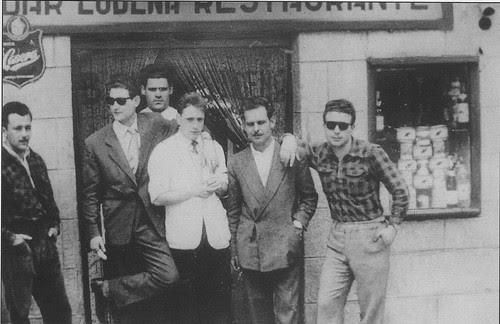 Bar Ludeña de Toledo a mediados del siglo XX.