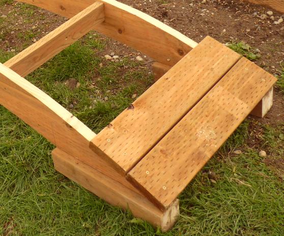 Woodwork How To Build A Wooden Garden Bridge Pdf Plans