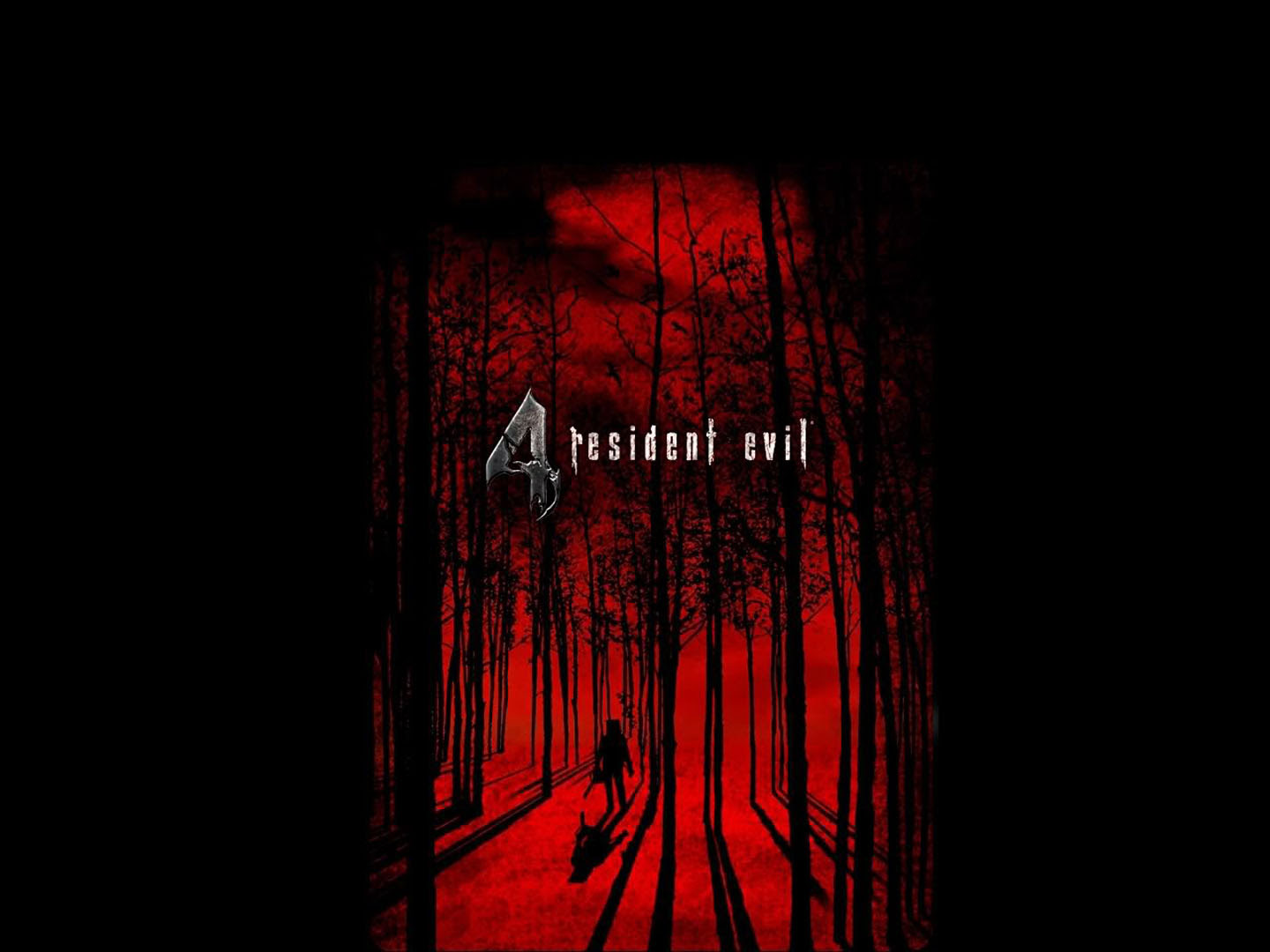 Red Forest Resident Evil 4 Wallpaper