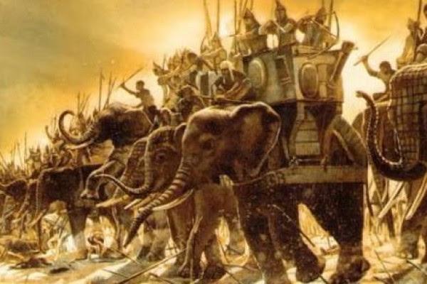 Os inovadores elefantes de Aníbal