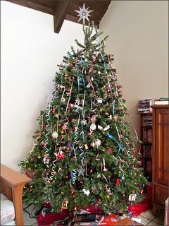 New Year's Eve 2013 tree
