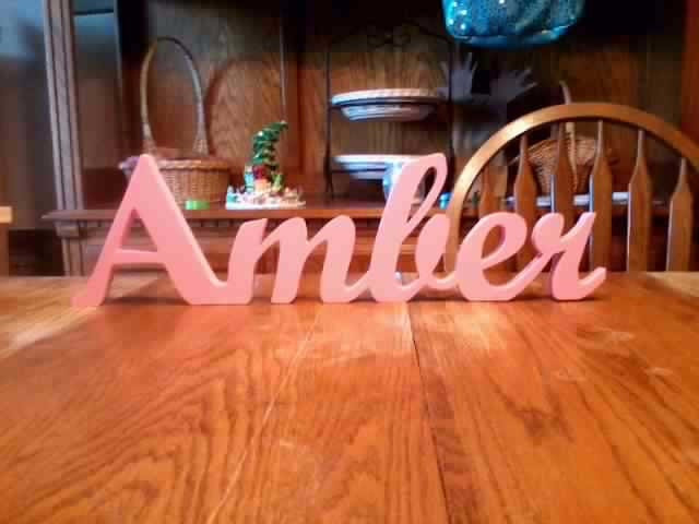 Items similar to handmade wooden name sign home decor ...
