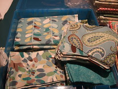The tumbler quilt begins