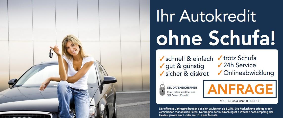 Autokredit ohne Schufa » Schufafreie Fahrzeugfinanzierung online