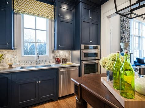 colorful painted kitchen cabinet ideas hgtvs decorating