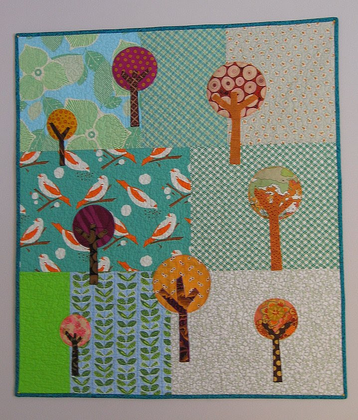 Circle tree quilt