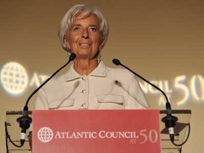 Christine Lagarde, directora general del FMI.