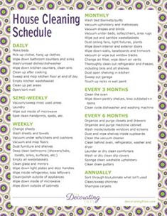 20+ Free Cleaning Printables - Busy Mom