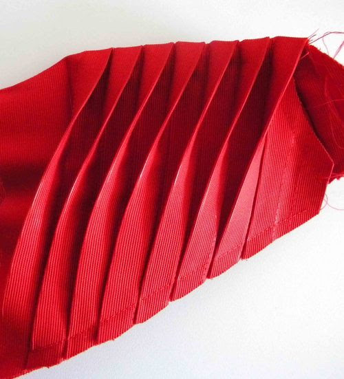 origami kol detayı moda tasarım stil anlatımlı dikiş teknikleri
