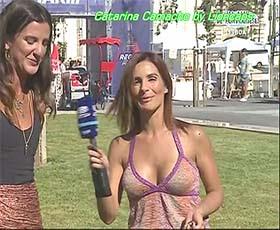 Catarina Camacho super sensual na Rtp
