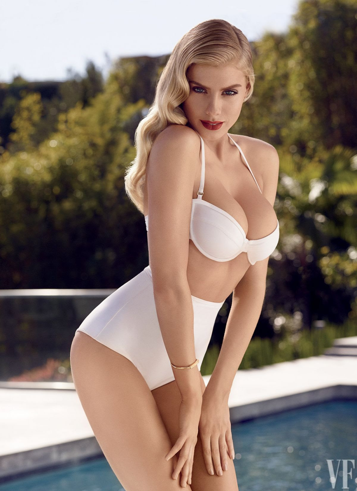 CHARLOTTE MCKINNEY - Vanity Fair Photoshoot