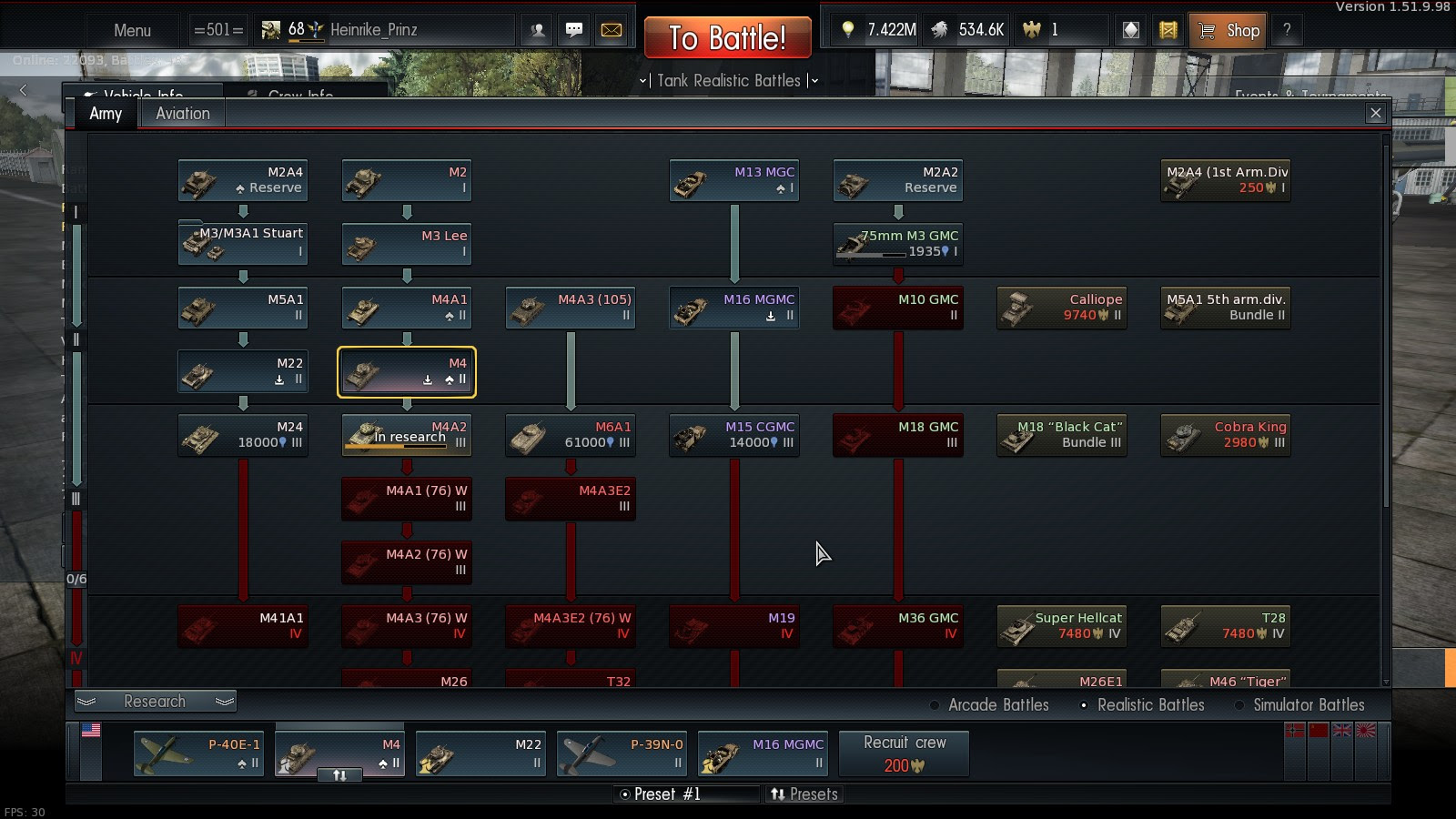 Grinding the US Tech Tree - General & Upcoming - War Thunder - Official Forum