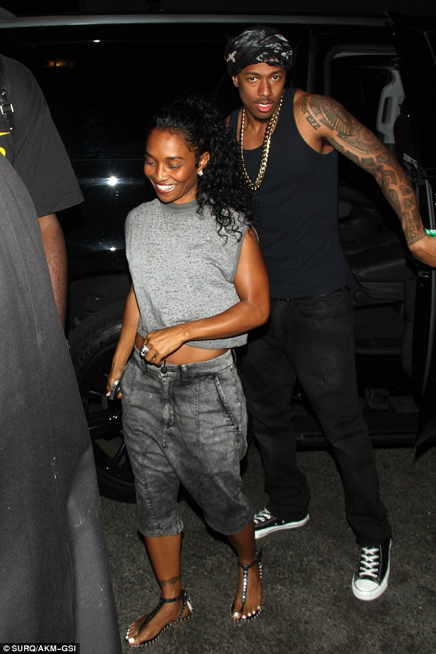Image result for nick cannon and chilli