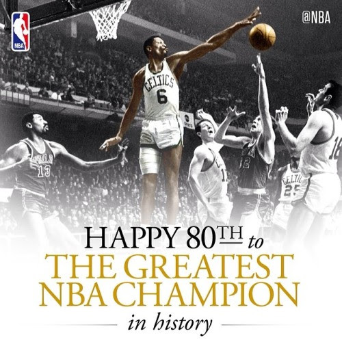 instanba:<br /><br />Happy 80th to 11x Champ Bill Russell! :: http://ift.tt/1ereb4J<br />