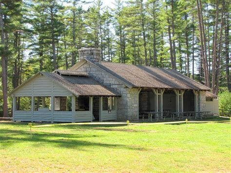 NH state park wedding venues  ceremony and reception all