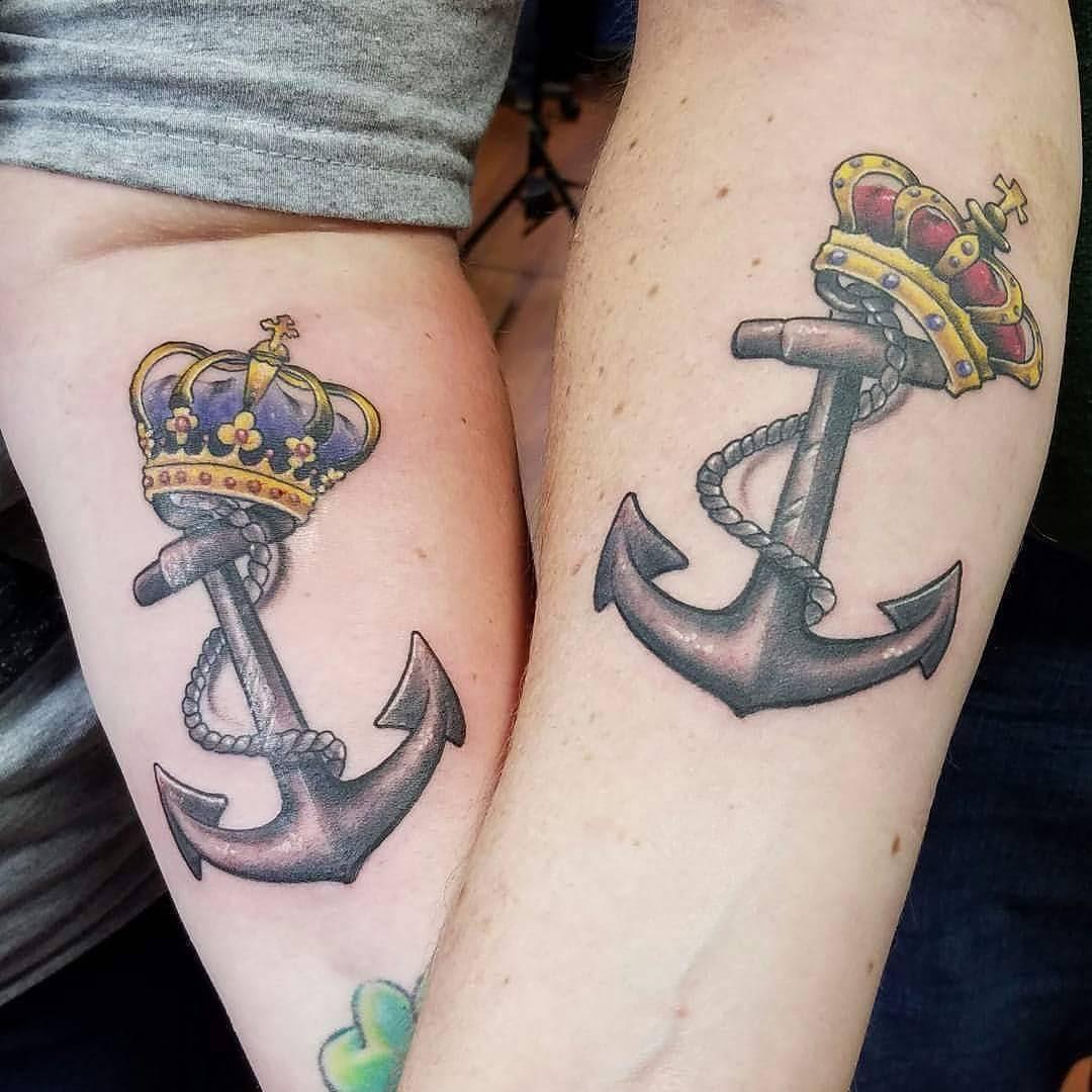 10+ Beautiful King Queen Tattoo For Beautiful Couples ...