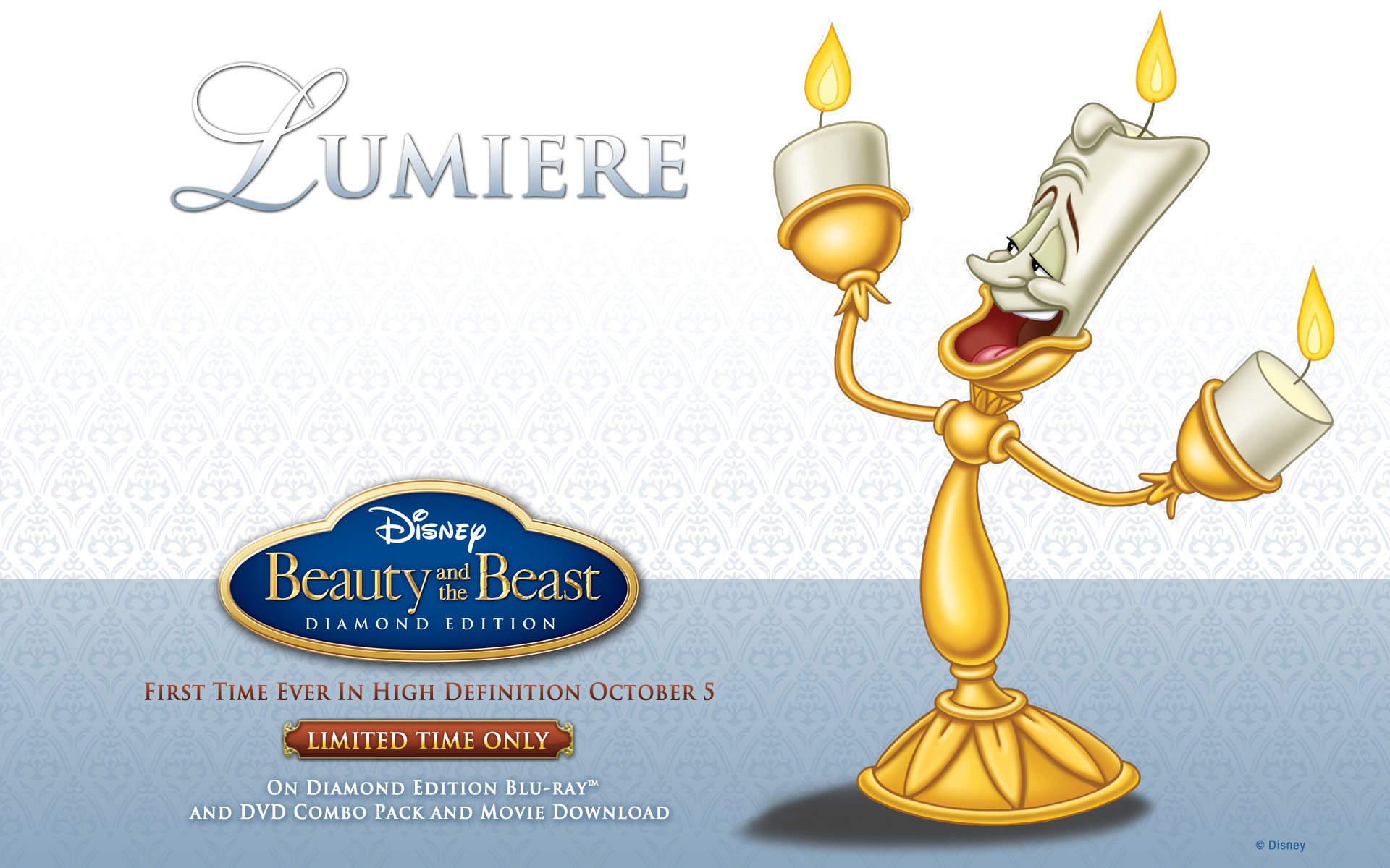 Wallpaper Beauty And The Beast Downloads Disney