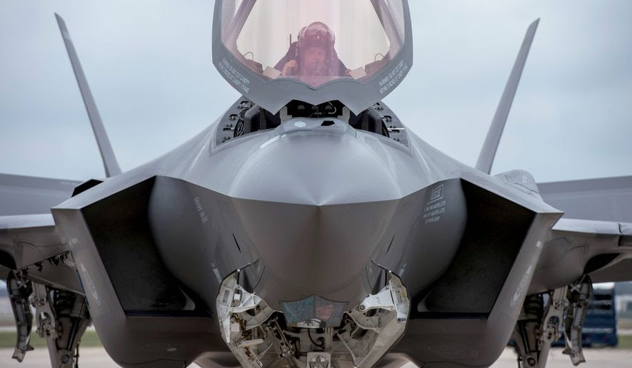 """The F-35 program and cost is out of control,"" President-elect Donald Trump tweeted on Dec. 12. ""Billions of dollars can and will be saved on military (and other) purchases after January 20th."" (Associated Press)"