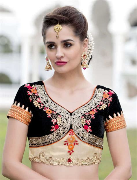 Upcoming Latest Gorgeous Bridal Blouse Designs Images 2018