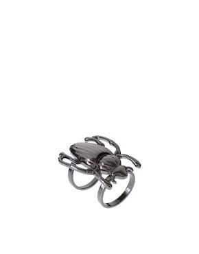 Image 1 ofRiver Island Beetle Ring
