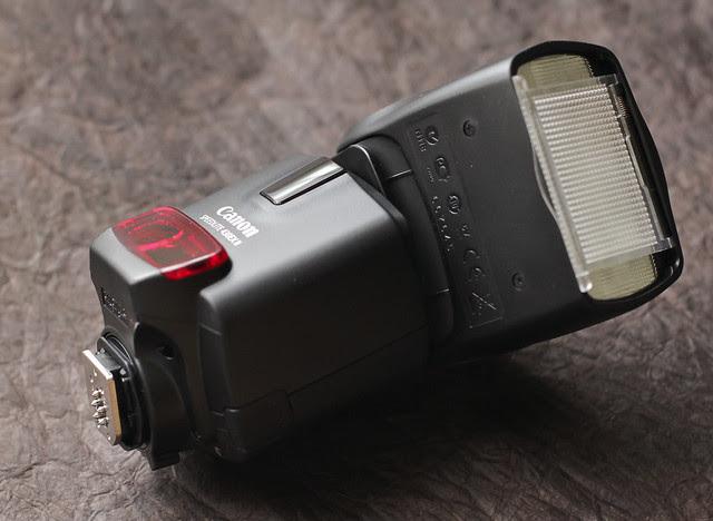 My new camera family - Canon 430EX II speedlite