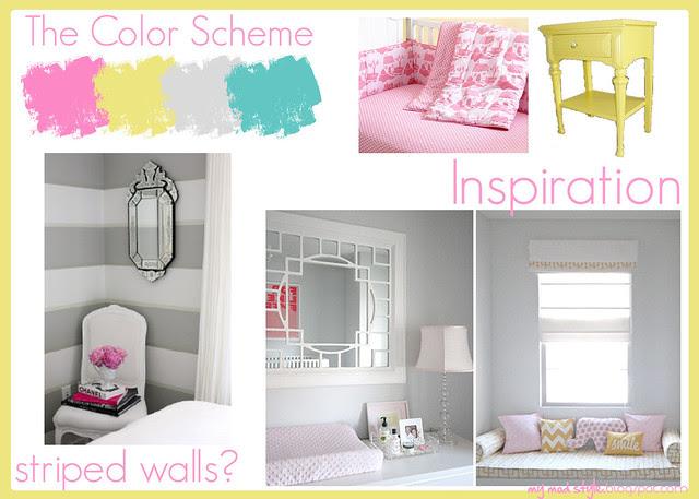 Kimberlys color scheme board