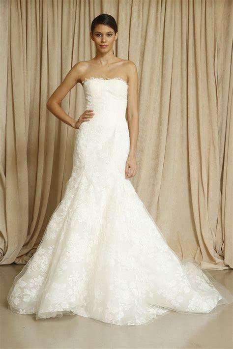 10 New Wedding Gowns by Oscar de la Renta   OneWed