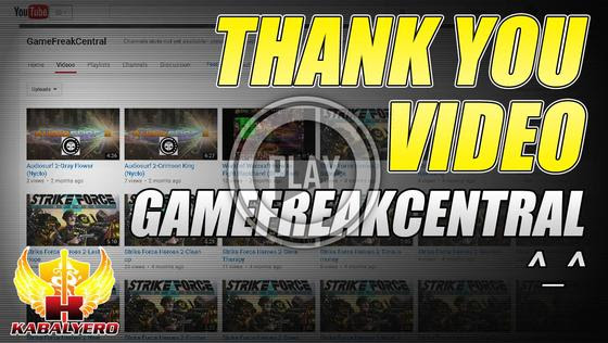 GameFreakCentral - Thank You Video