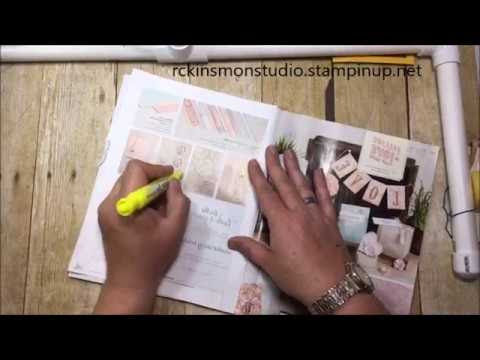 Stampin' Up! 2016   2017 Retirement List Walk Through with Rick