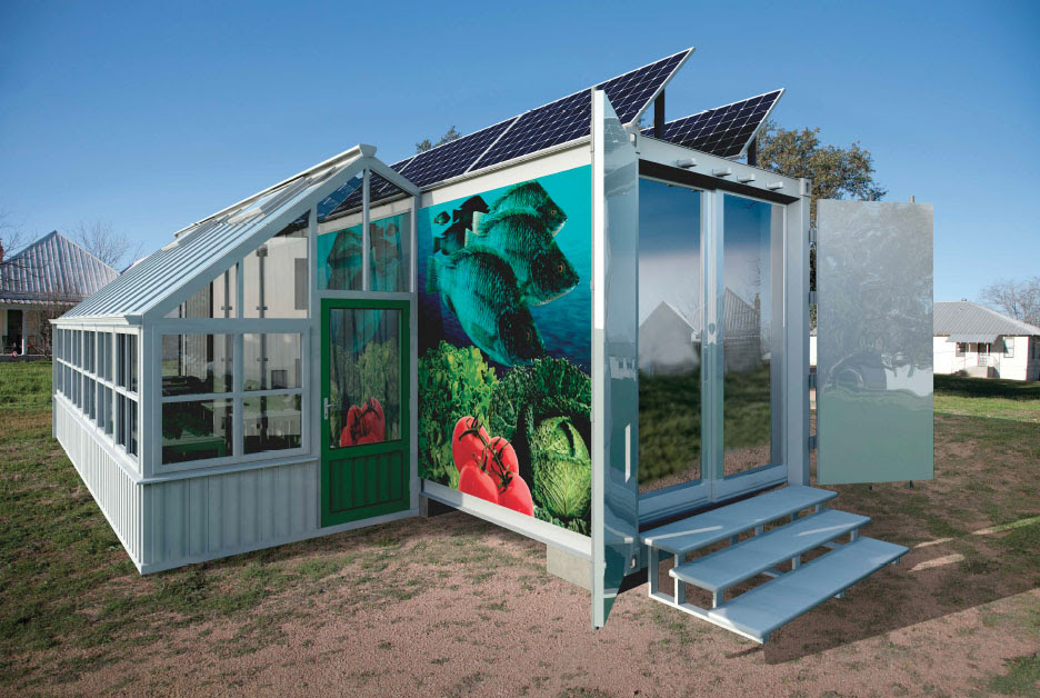 Shipping Container Hydroponics