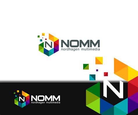 company logo design  nomm  crtivethinker design