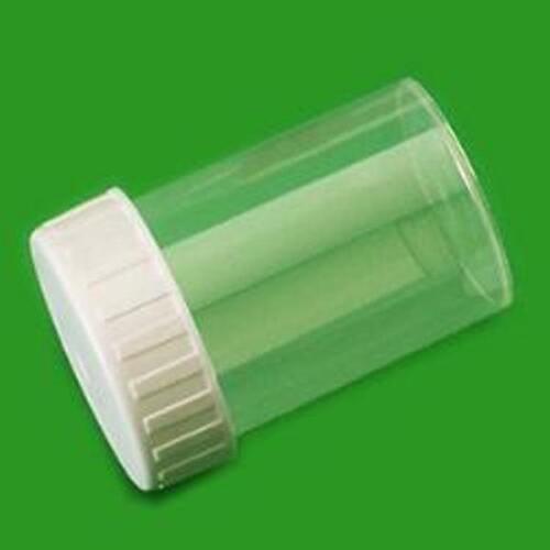 Blanc Avec Bouchon A Vis 60 Ml Polypropylene Recipient Pot Baignoire O 40 X 60 Mm