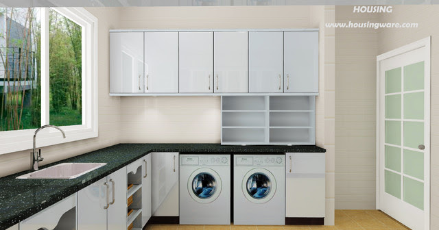 Vanity / Laundry 003-2 - modern - laundry room - other metro - by ...