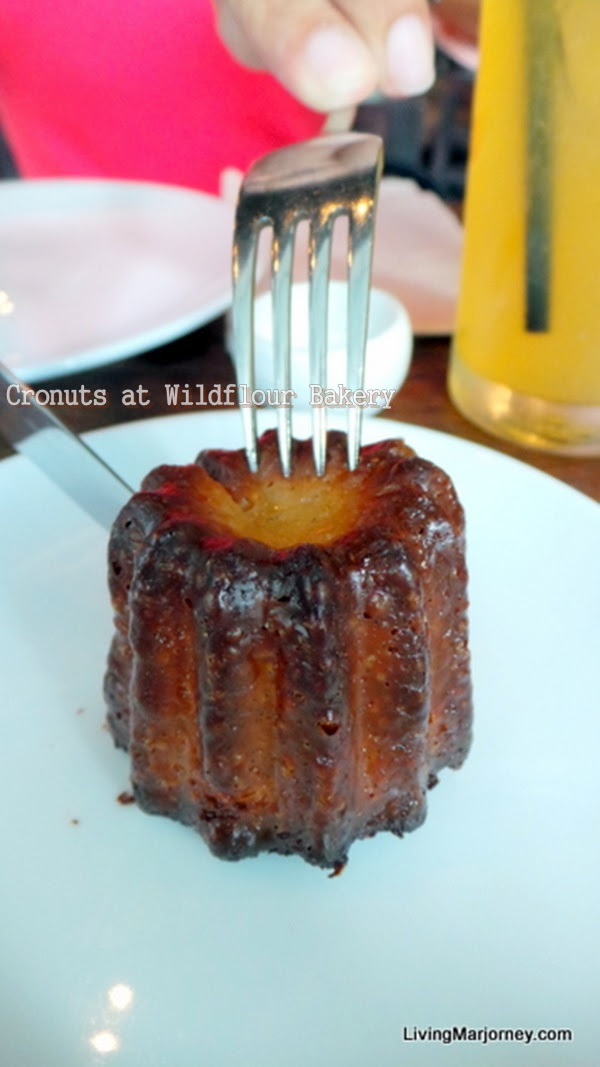 Cannele at Wildflour Cafe