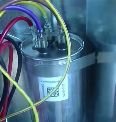 Air Conditioner Dual Capacitor Wiring